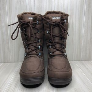 Kamik Brooklyn Snow Thinsulated Boots size 7